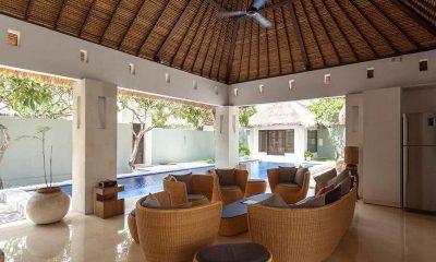 BVilla | +spa 5br Living Area I Seminyak, Bali