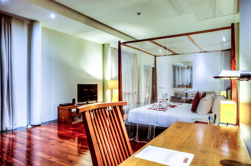 Javana Royal Villas Bedroom with TV | Kerobokan, Bali