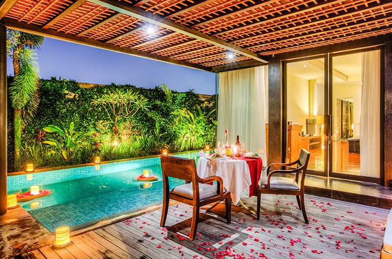 Javana Royal Villas Outside Dining Table | Kerobokan, Bali