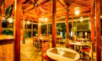 Javana Royal Villas Restaurant   Kerobokan, Bali