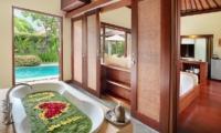 Nyuh Bali Villas Honeymoon Suite Bathtub | Seminyak, Bali