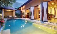 Nyuh Bali Villas Night View Pool | Seminyak, Bali
