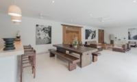 Villa Chocolat Living And Dining Area | Seminyak, Bali