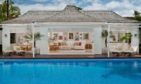 Villa Lulito Pool Side Living Area | Seminyak, Bali