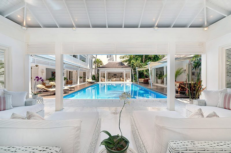 Villa Lulito Pool Side Seating Area | Seminyak, Bali