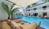 Villa Lulito Open Plan Lounge Area | Seminyak, Bali