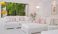 Villa Lulito Lounge Room With Garden View | Seminyak, Bali