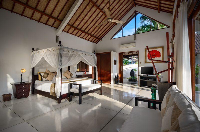 Villa Noa Master Bedroom Interiors | Seminyak, Bali