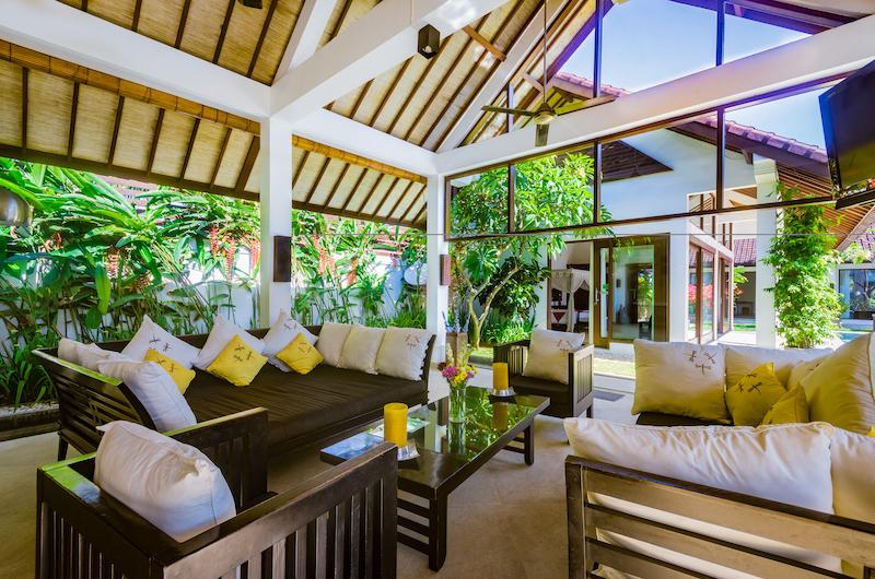 Villa Noa Open Plan Seating Area   Seminyak, Bali