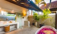 Villa Noa Bathtub Area   Seminyak, Bali