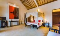 Villa Noa Bedroom with TV   Seminyak, Bali