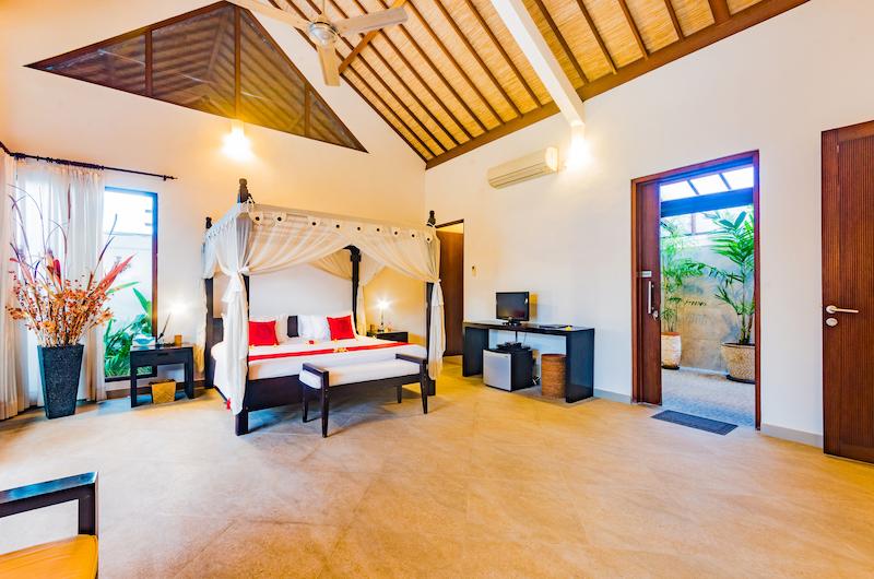 Villa Noa Spacious Bedroom One   Seminyak, Bali