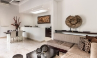 The Residence 2br Deluxe - Villa Lanai Living and Dining Room | Seminyak, Bali