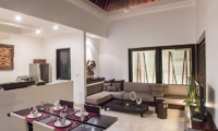 The Residence 2br Deluxe - Villa Zensa Dining and Living Room | Seminyak, Bali