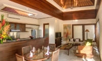 The Residence 2+1br Superior - Villa Siam Dining and Living Room | Seminyak, Bali