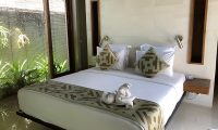 Tukad Pangi Villa Bedroom Area   Canggu, Bali