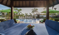 Villa Luwih Pool Side Seating Area | Canggu, Bali