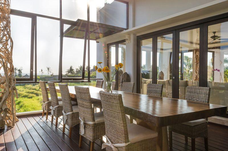 Villa Luwih Dining with Garden View   Canggu, Bali