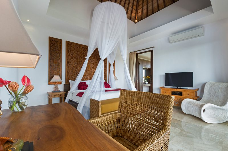 Villa Luwih Bedroom with TV | Canggu, Bali