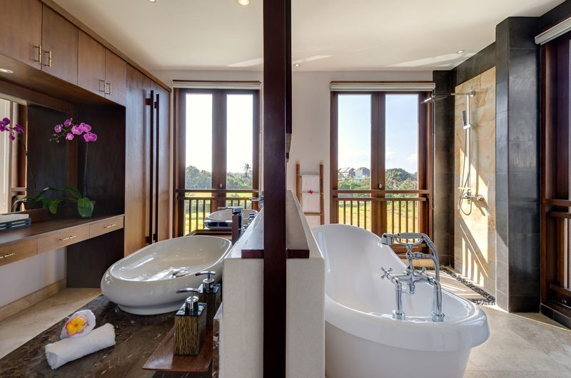 Villa Luwih His and Hers Bathroom | Canggu, Bali