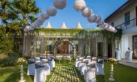 Villa Malaathina Wedding Set Up   Umalas, Bali