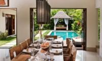 Villa Songket Dining Room I Umalas, Bali