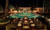 Matahari Villa Outside Dining Area | Seseh-Tanah Lot, Bali