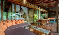 Shalimar Villas Living and Dining Area | Seseh, Bali