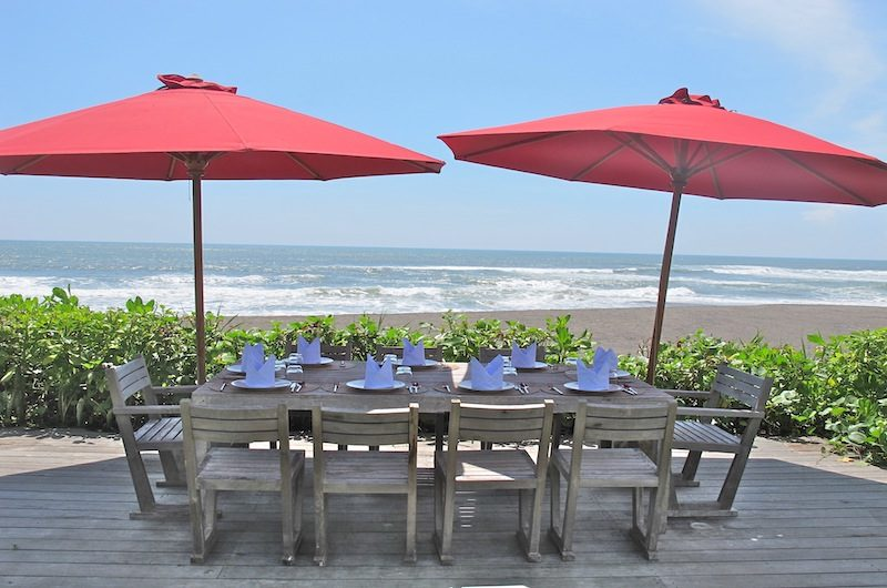 Sound of the Sea Outdoor Dining Area | Pererenan, Bali