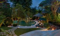 Villa Bougainvillea Night View | Canggu, Bali
