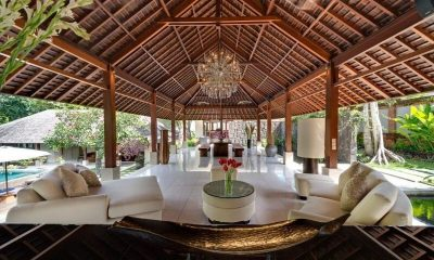 Villa Bunga Pangi Outdoor Seating | Canggu, Bali