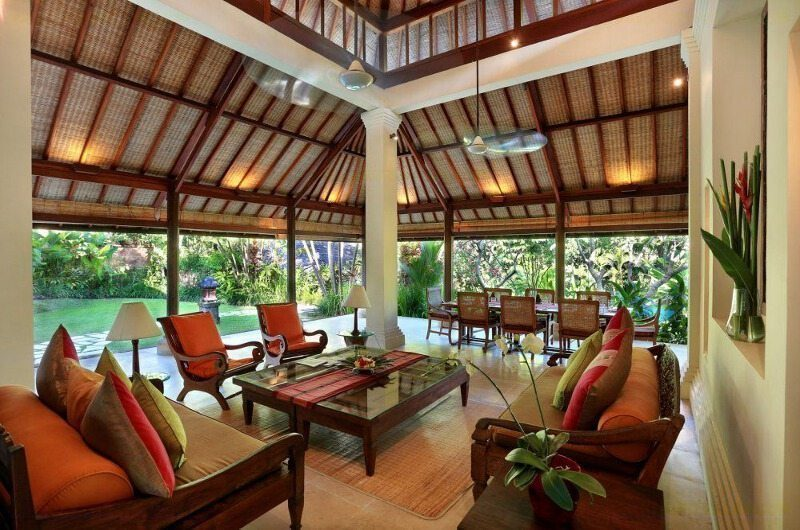 Villa Bunga Wangi Living Area | Canggu, Bali