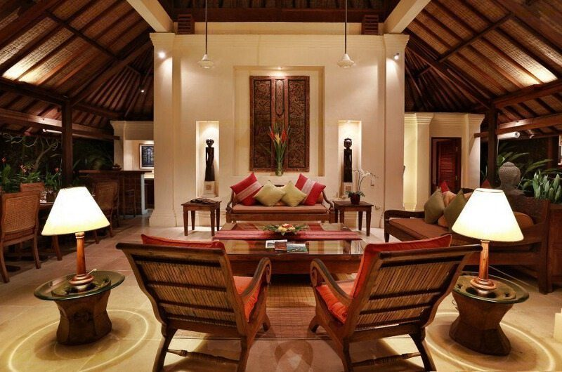 Villa Bunga Wangi Living Room | Canggu, Bali