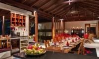 Villa Capung Dining Room   Uluwatu, Bali