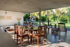 Villa Cocogroove Open Plan Dining Area I Seminyak, Bali