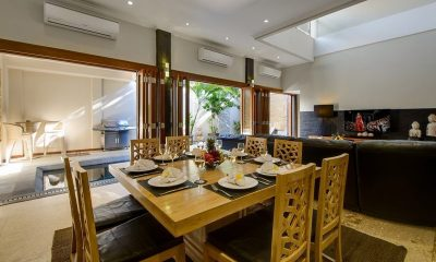 Villa Michelina Dining Area   Legian, Bali