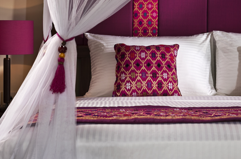 Villa Songket Bedroom Pillow | Umalas, Bali