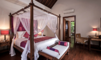 Villa Songket Bedroom with Four Poster Bed | Umalas, Bali