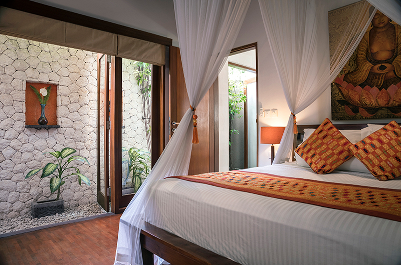 Villa Songket Open Plan Bedroom | Umalas, Bali