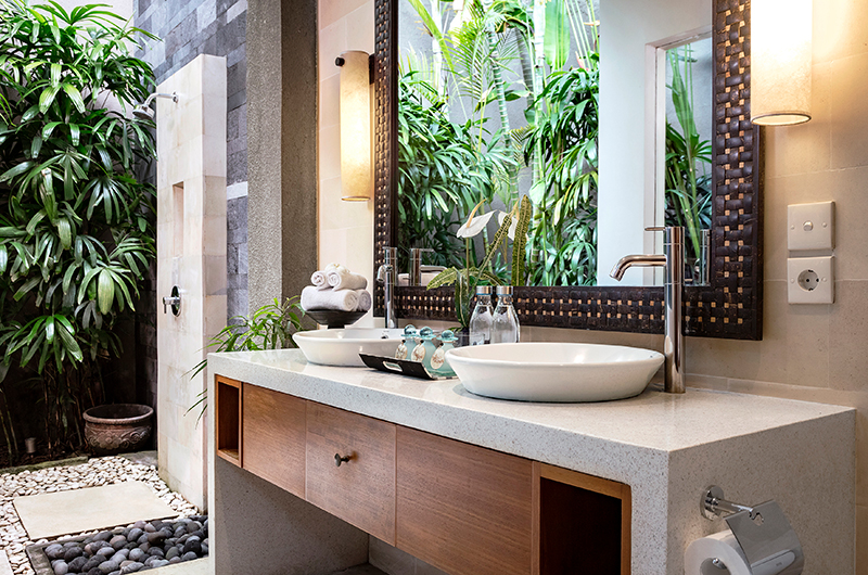 Villa Songket His and Hers Vanity | Umalas, Bali