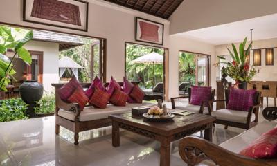 Villa Songket Open Plan Seating   Umalas, Bali