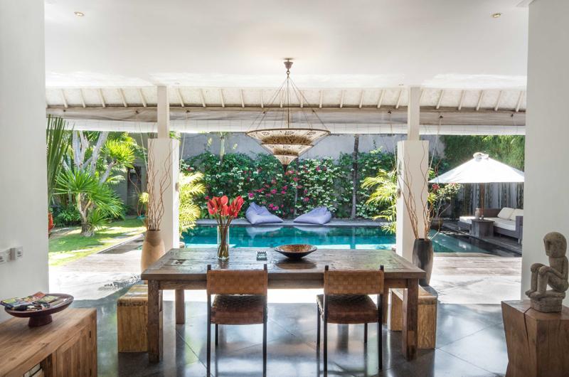 Villa Sophia Pool Side Dining | Seminyak, Bali