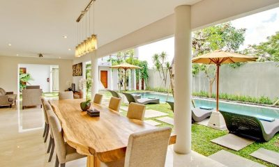 Amadea Villas Dining and Living Area I Seminyak, Bali