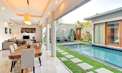 Amadea Villas Open Plan Dining Area I Seminyak, Bali