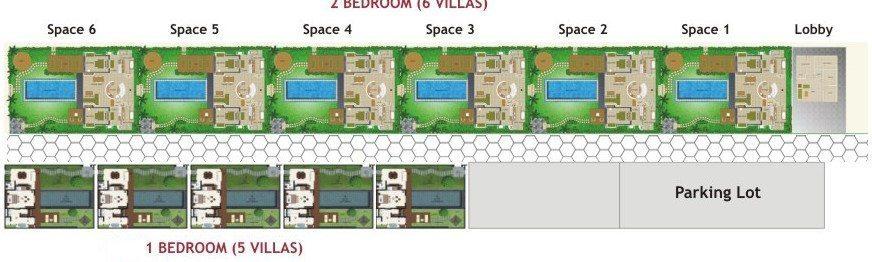Space at Bali Floorplan | Seminyak, Bali