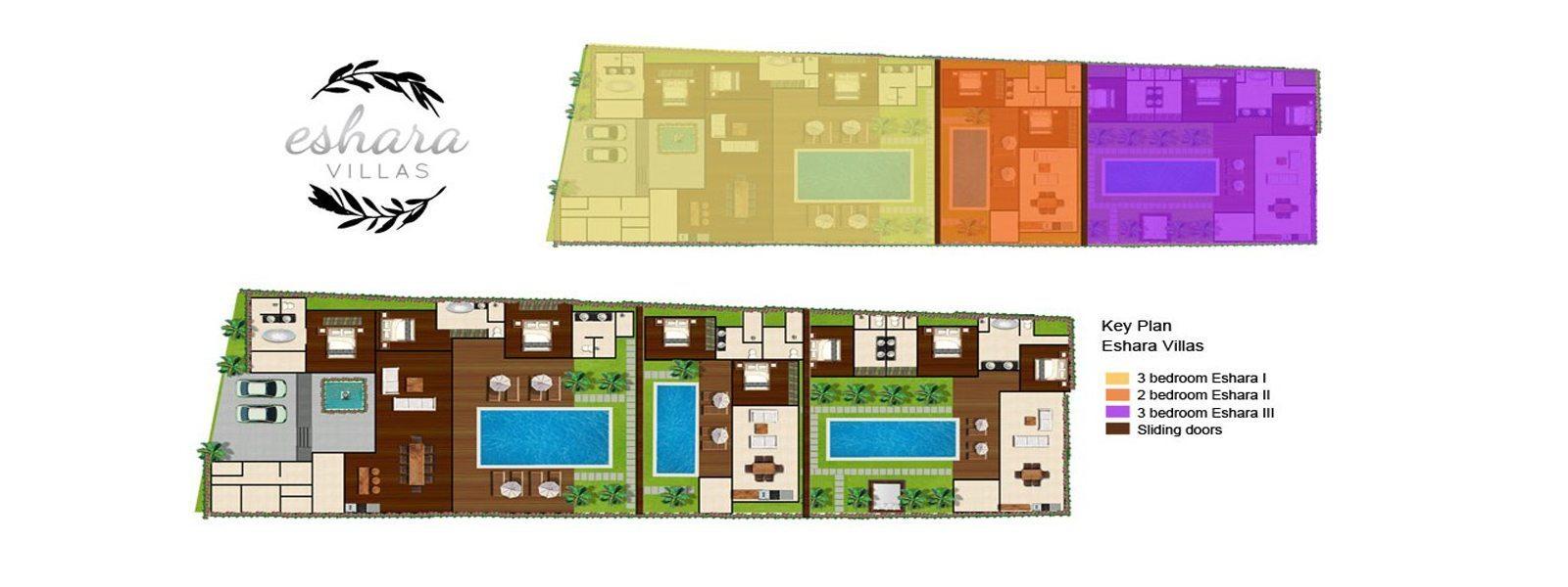 Villa Eshara Floorplan | Seminyak, Bali