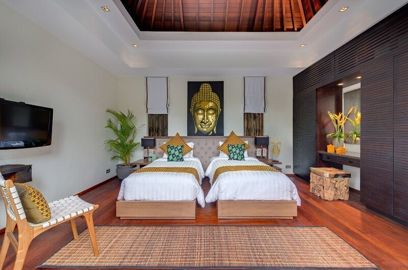 Villa Eshara Twin Bedroom | Seminyak