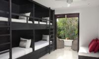 Villa Hana Bunk Bedroom | Canggu, Bali