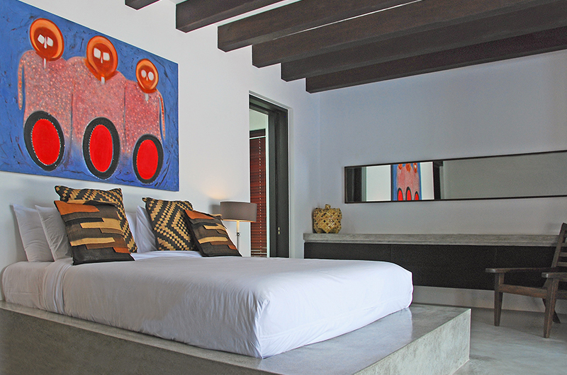 Villa Hana Bedroom with Seating | Canggu, Bali