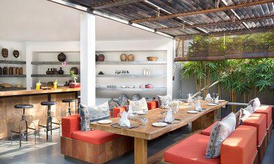 Villa Levi Open Plan Dining | Canggu, Bali